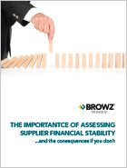 The importance of assessing supplier financial stability
